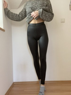Leggings aus Kunstleder