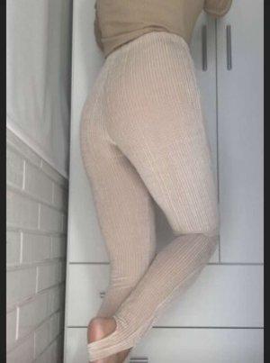 Leggings beige gr.36 mit Stretch