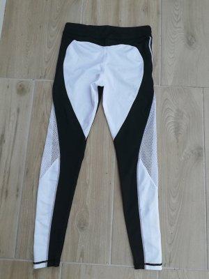 Butik Sportbroek wit-zwart