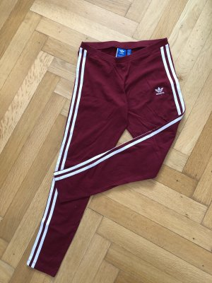Adidas Originals Legging bordeau