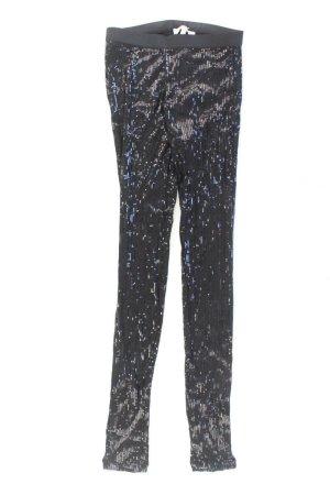 Leggings Größe 36 mit Pailletten schwarz aus Viskose