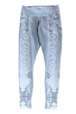 Leggings Größe S blau aus Polyester