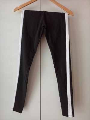 Leggings Größe XS schwarz weiß
