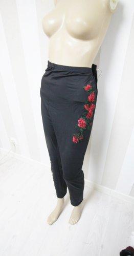 Leggings black-red