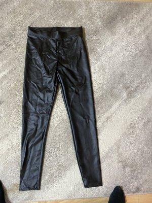 Taily Weijl Pantalone in pelle nero