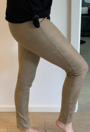 Leggings in Lederoptik