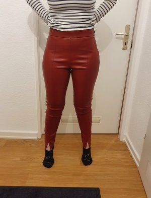Leggings  Leder Optik