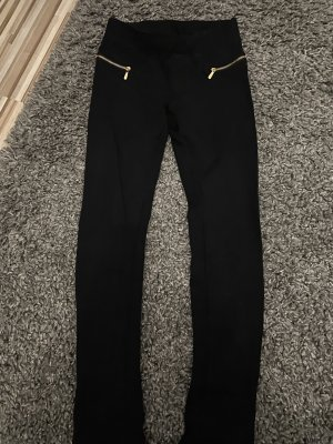 Jeggings black-gold-colored