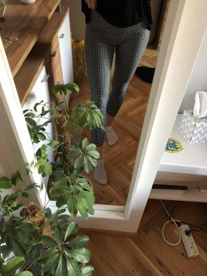 Leggings mit Hahnentrittmuster