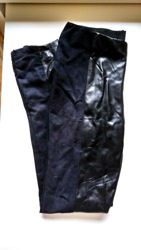 Leggings mit Leder