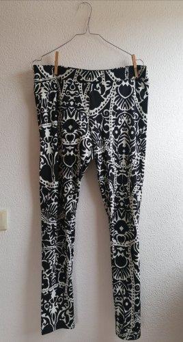 H&M Legging blanc-noir