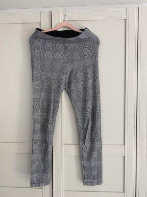 Leggings mit Muster schwarz-weiß