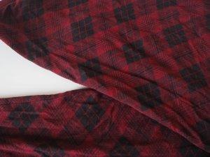 Leggings mit rot-schwarzem Karomuster