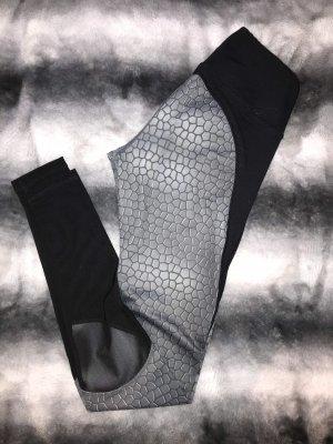 Body Engineers Legging zwart-zilver