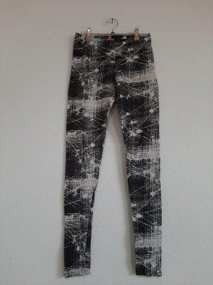 Leggings schwarz weiß 34 H&M