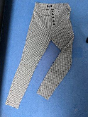 Leggings schwarz weiß Zara Größe S