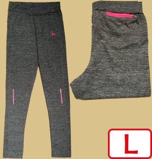 Leggings grey-pink
