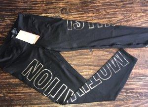 H&M Legging noir-doré