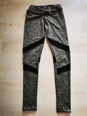 Pantalon de sport gris-noir