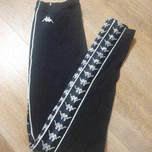 Kappa Leggings nero-bianco sporco