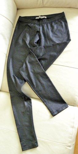 Stradivarius Legging noir tissu mixte