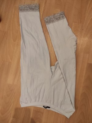 Janina 3/4 Length Trousers white