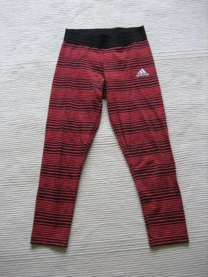 Adidas Leggings rojo-negro