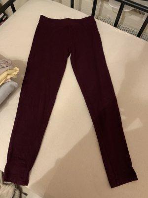 Woolen Trousers bordeaux