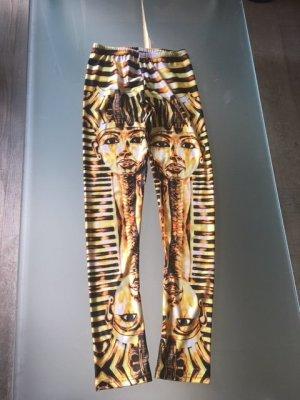 Leggins glänzend Ägypt Design