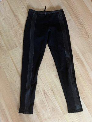 Apart Legging noir coton
