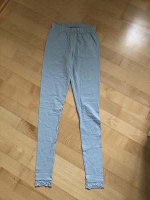 Pieces Legging lichtblauw-babyblauw