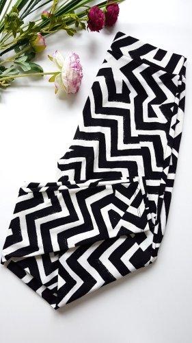 Leggins schwarz-weiß von H&M