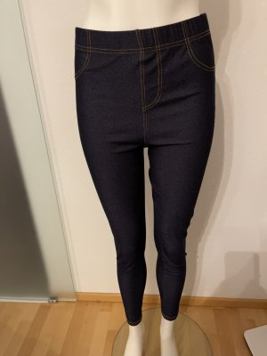 Leggins Stretch Hose Gr 40 42 M in Jeans Look