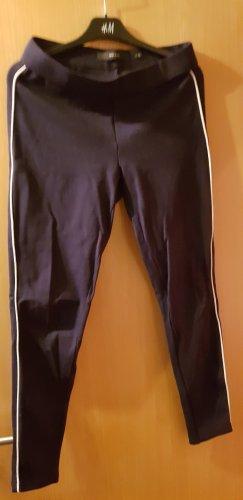 Vero Moda Leggings bianco-blu scuro