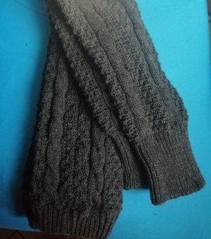 H&M Legwarmers dark grey wool