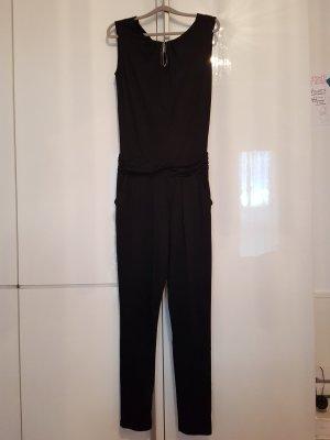 Comma Jumpsuit zwart