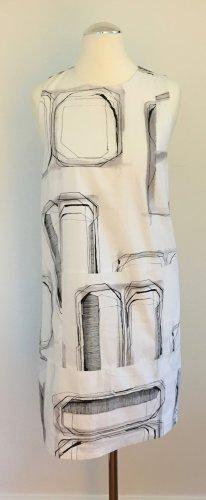 Leicht ausgestelltes Baumwollkleid mit grafischem Druck von Cos