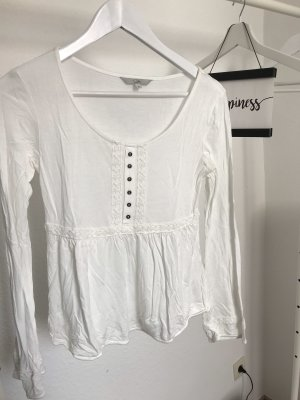 Clockhouse Cropped shirt wit