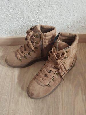 Gina Benotti Winter Boots light brown