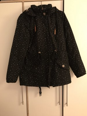 Gina Quilted Coat black