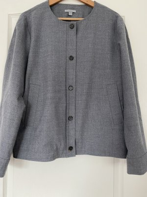 COS Krótka kurtka srebrny-szary