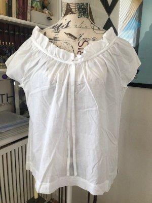 Leichte Baumwoll-Bluse von Zara
