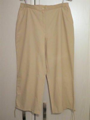Fabiani 7/8 Length Trousers beige cotton