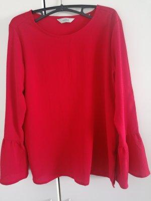 active ESSENTIALS by TCHIBO Top koszulowy czerwony