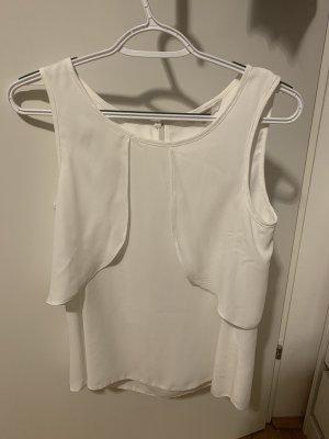 C&A Clockhouse Bluzka z krótkim rękawem biały