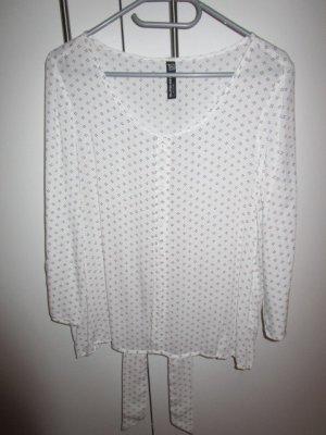 Blusa caída blanco