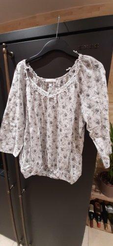 Leichte Bluse Größe 40 floral