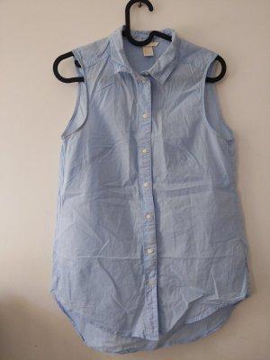 leichte Bluse • hellblau • H&M • 34