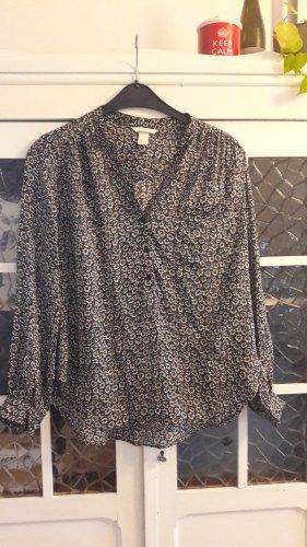 H&M Oversized Blouse multicolored modal fibre