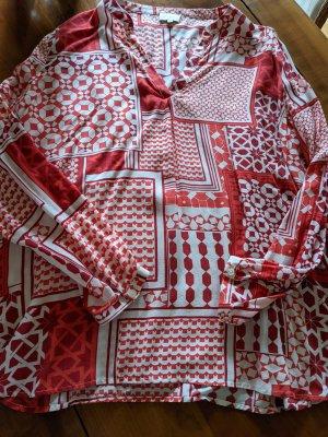 leichte Bluse in frischer Farbe